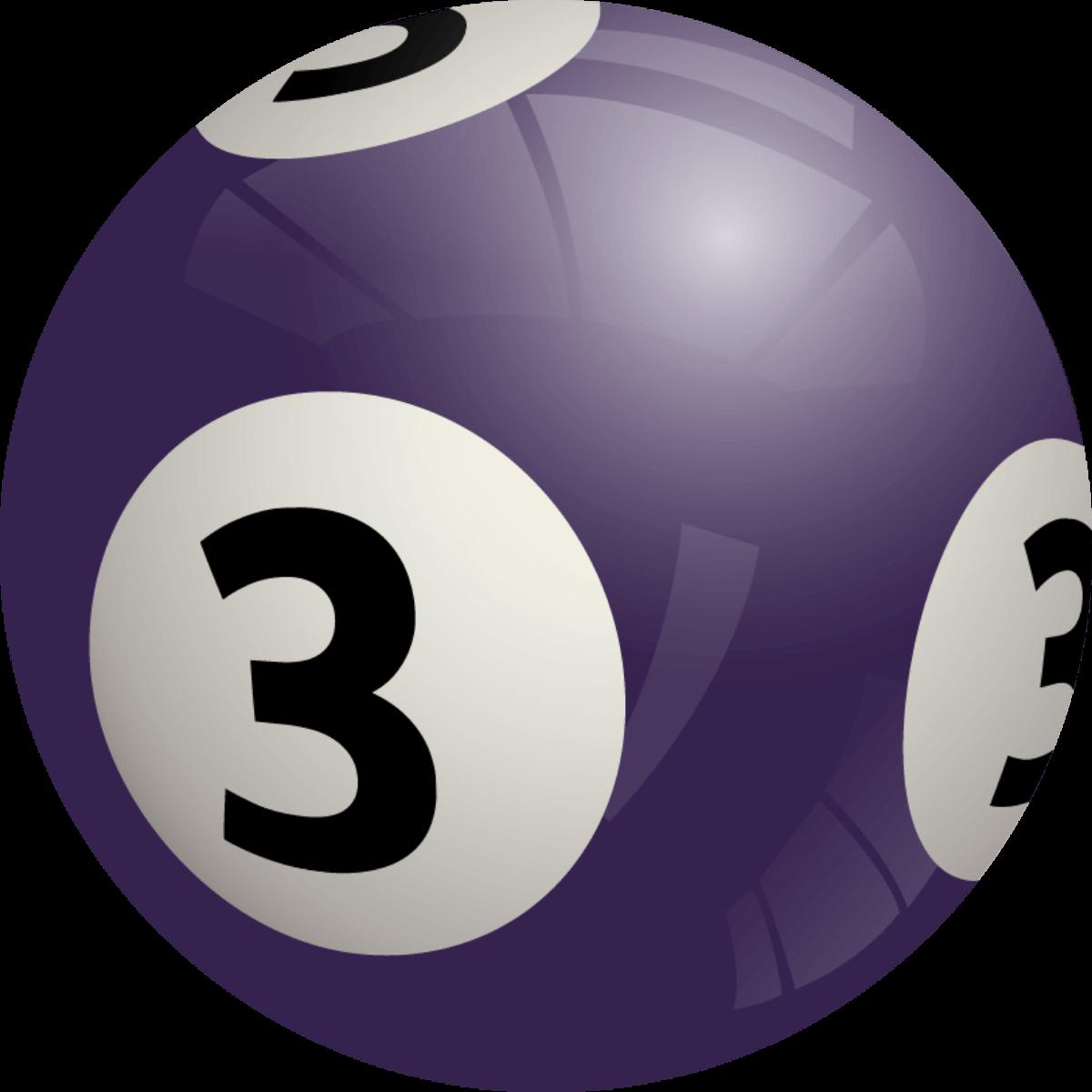 Bingo ball 6